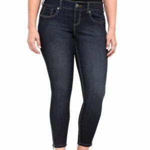 Torrid Stiletto Jegging Zipper Ankle Jeans HW9955